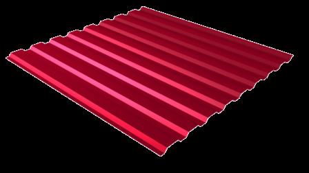 Профнастил С20 RAL 3005 (винно-красный) полимерное покрытие