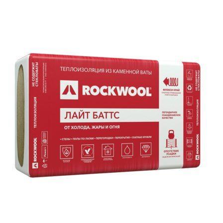 Утеплитель Rockwool Лайт Баттс 1000х600х50мм, (10пл./6м2)