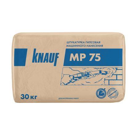 Штукатурка машинная гипсовая Knauf МП-75 (30 кг)